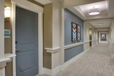 In-Suite Features of homes at Beach House Assisted Living & Memory Care at Wiregrass Ranch in Wesley Chapel, Florida