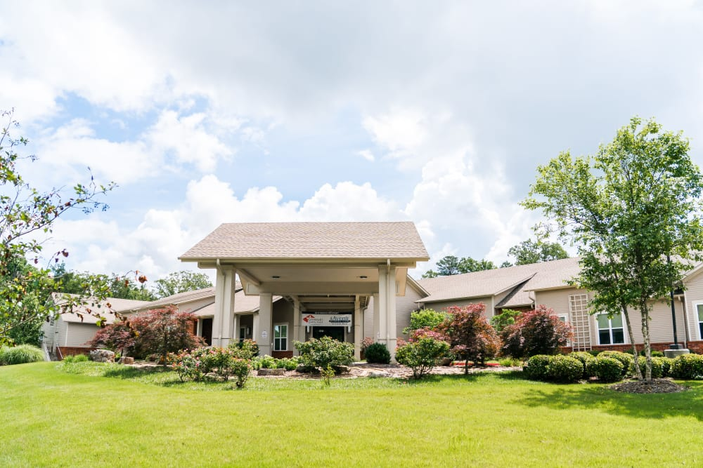 Our beautiful senior living complex in Little Rock, Arkansas