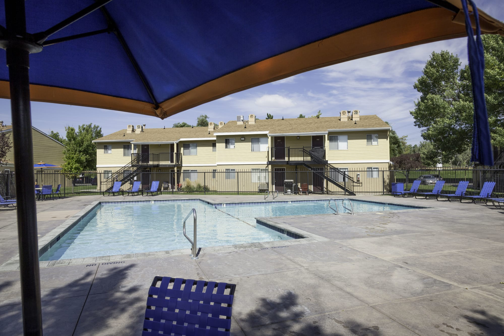 View of Callaway Apartments's pool