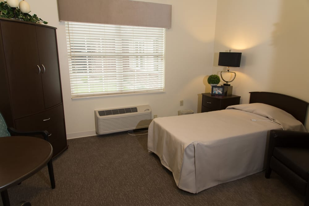 Studio apartment at Forest Springs Health Campus in Louisville, Kentucky