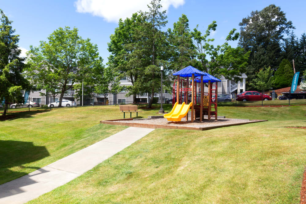 Alaire Apartments in Renton, Washington has a playground