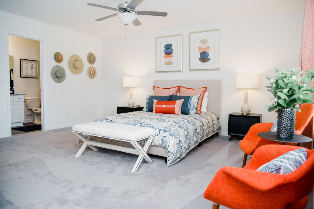 A spacious bedroom at Artisan Living Bella Citta in Davenport, Florida