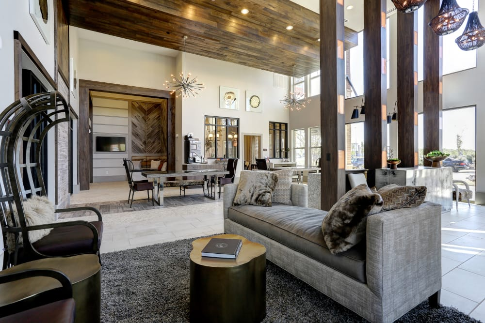 Clubhouse at The Sawyer at One Bellevue Place in Nashville, Tennessee