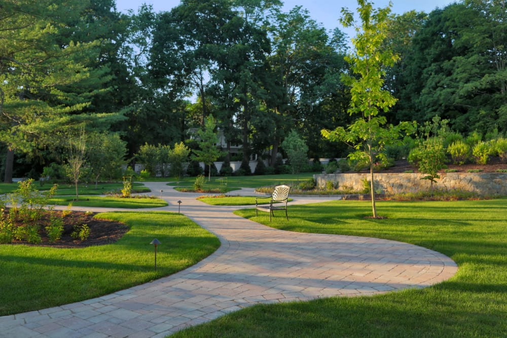 Walkway near Maplewood at Darien in Darien, Connecticut