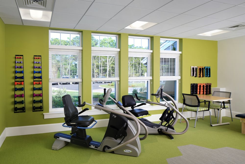 Our fitness center at Maplewood at Brewster is the perfect spot to rejuvenate your body and mind.