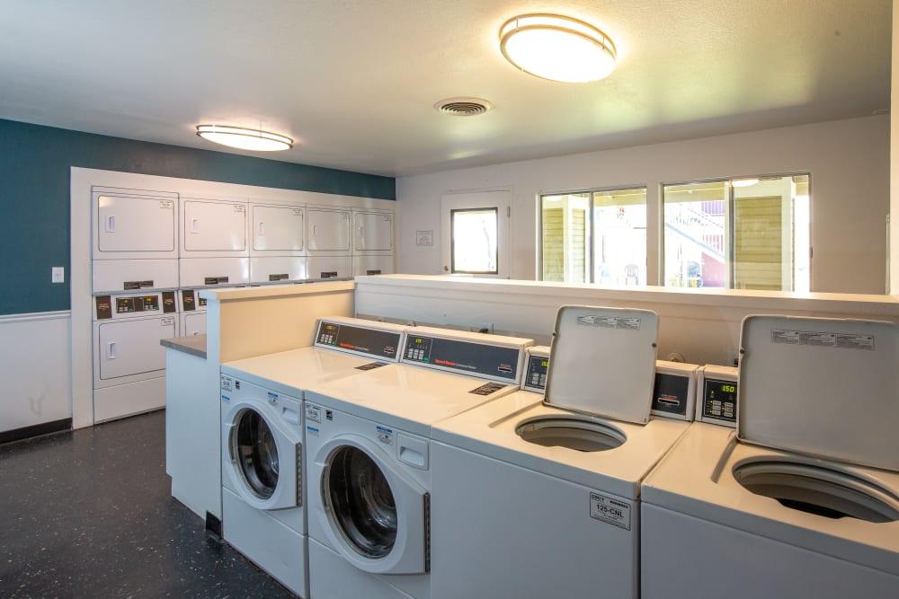 Laundry facilities at Callaway Apartments in Taylorsville, Utah