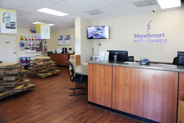 Office at StoreSmart Self-Storage in Wando, South Carolina
