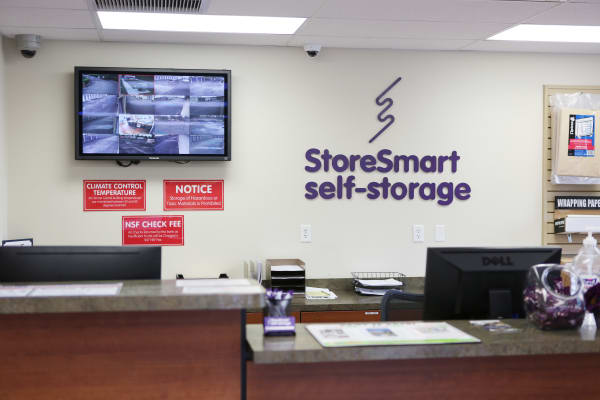 Office at StoreSmart Self-Storage in Spring Hill, Florida