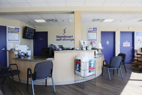 Office at StoreSmart Self-Storage in Spring Lake, North Carolina