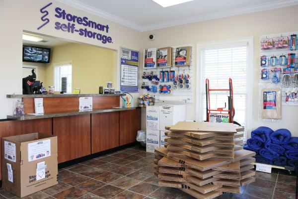 Office at StoreSmart Self-Storage in Watkinsville, Georgia