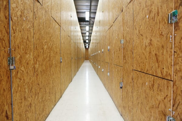 Interior units at Jupiter Park Self Storage in Jupiter, Florida