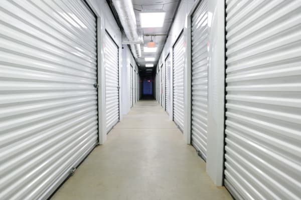 Interior units at Midgard Self Storage in Woodstock, Georgia