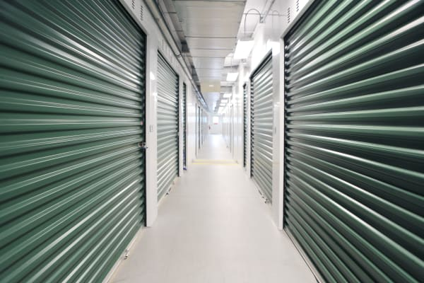 Interior units at Midgard Self Storage in Sheffield, Alabama