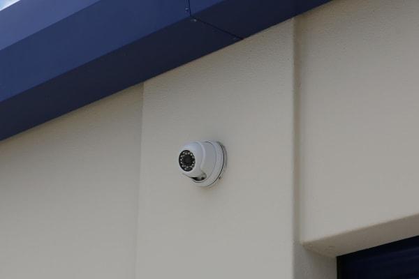 Security camera at Midgard Self Storage in Bradenton, Florida