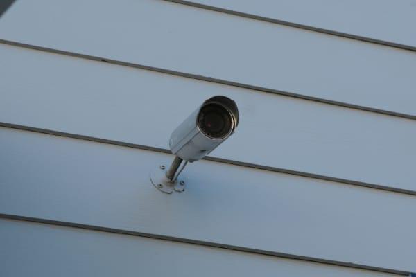 Security camera at Midgard Self Storage in Murrells Inlet, South Carolina