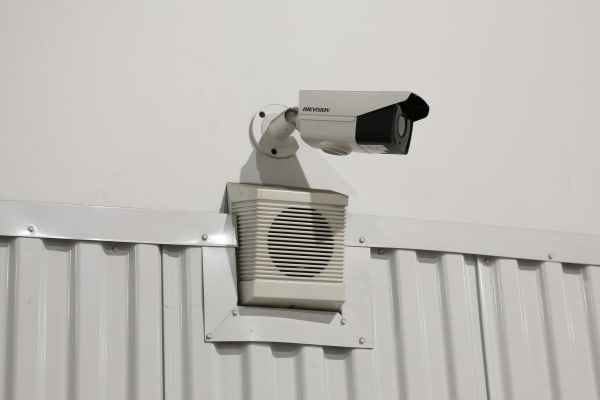 Security camera at Midgard Self Storage in Jacksonville, Florida
