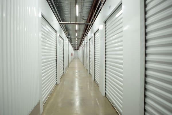 Interior storage units at Midgard Self Storage in Florence, Alabama