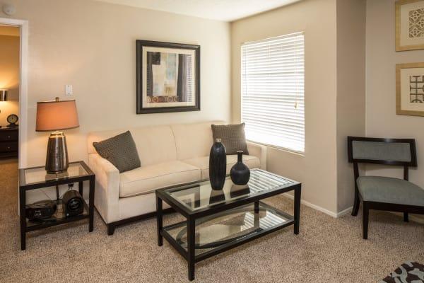 Living room at Ridgewood Preserve