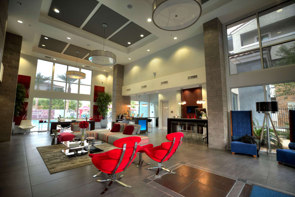 Resident common area at Avenue 25 Apartments