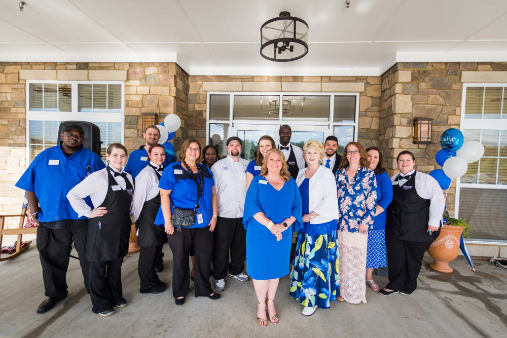 Our staff at Arcadia Senior Living Clarksville in Clarksville, TN