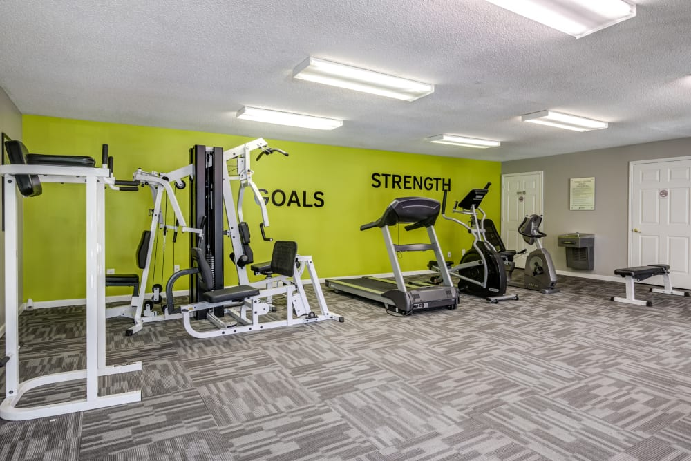 Keystone Farms offers a state-of-the-art fitness center in Nashville, Tennessee