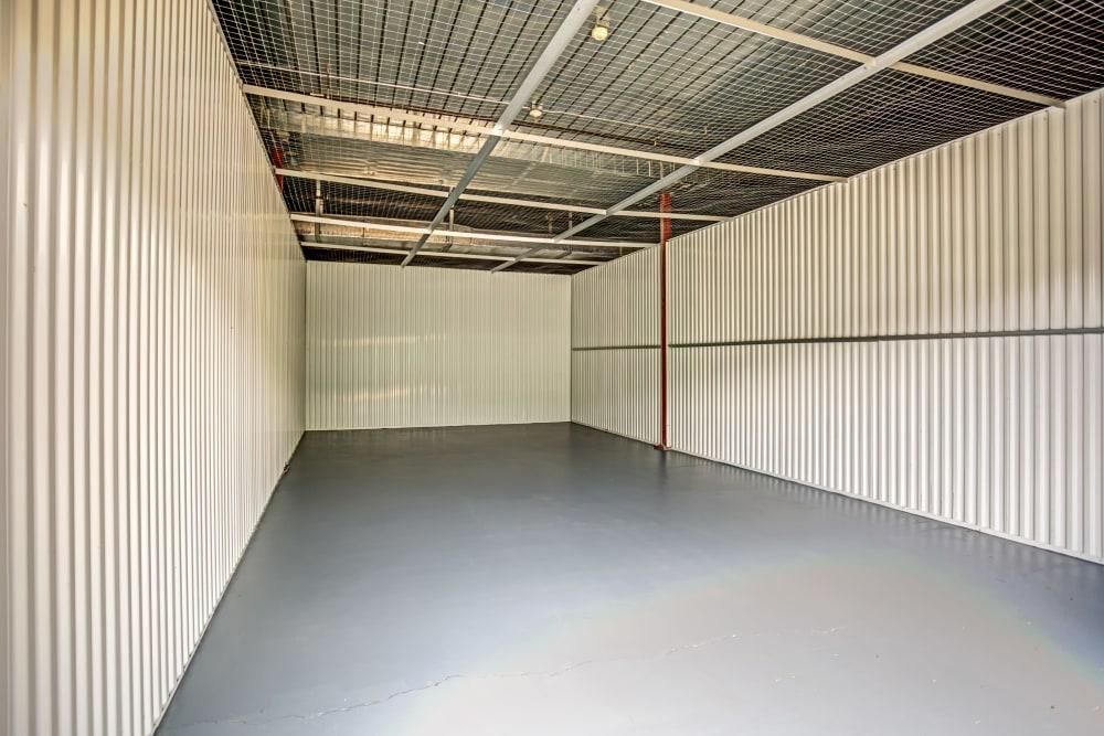 Indoor unit interior at Metro Self Storage in Wesley Chapel, Florida