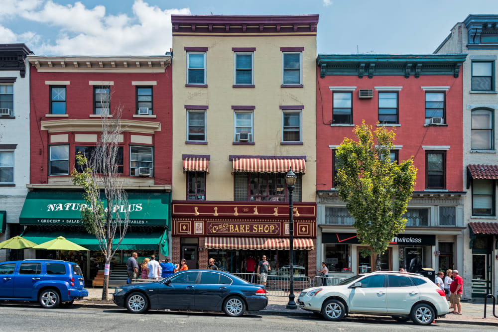 Bakery located on Washington Street near Marian Towers in Hoboken, New Jersey