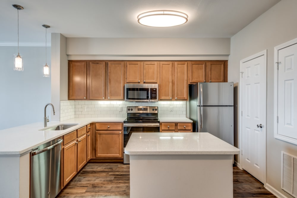 Open Kitchen at West End at City Center in Lenexa, Kansas