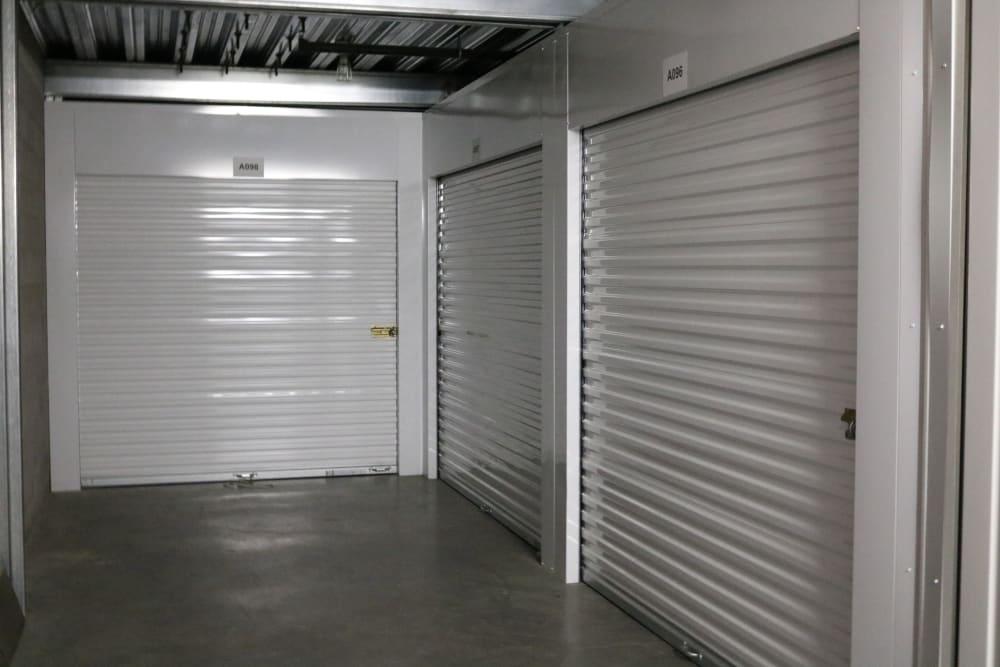 Indoor storage units at Best Storage in Henderson, Nevada
