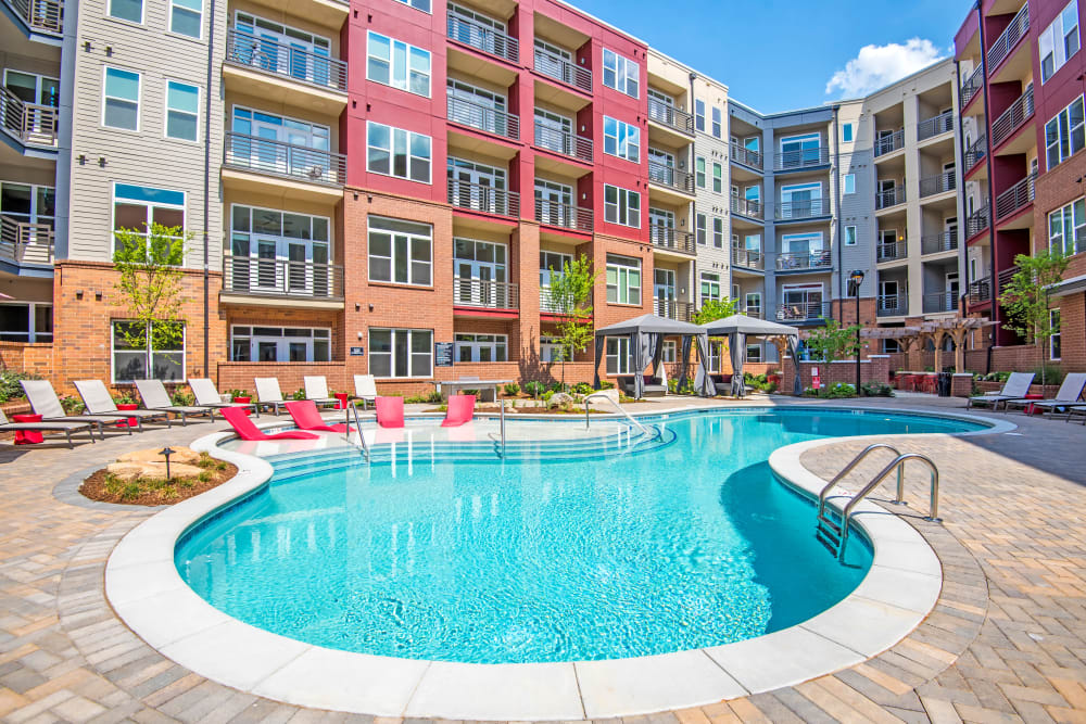 Swimming Pool at Mercury NoDa in Charlotte, North Carolina