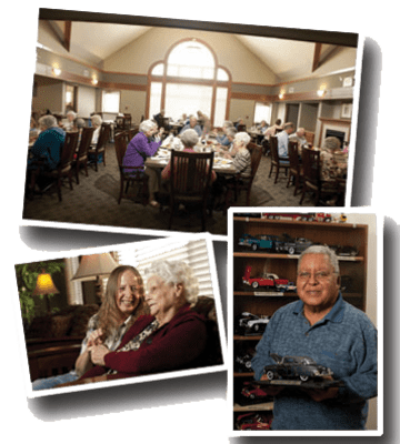 Contact us today to learn more about our community at Meadow Ridge Senior Living.