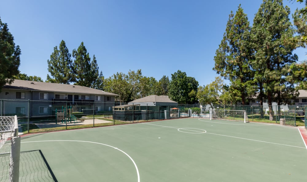 Soccer field at Creekside Village Apartment Homes