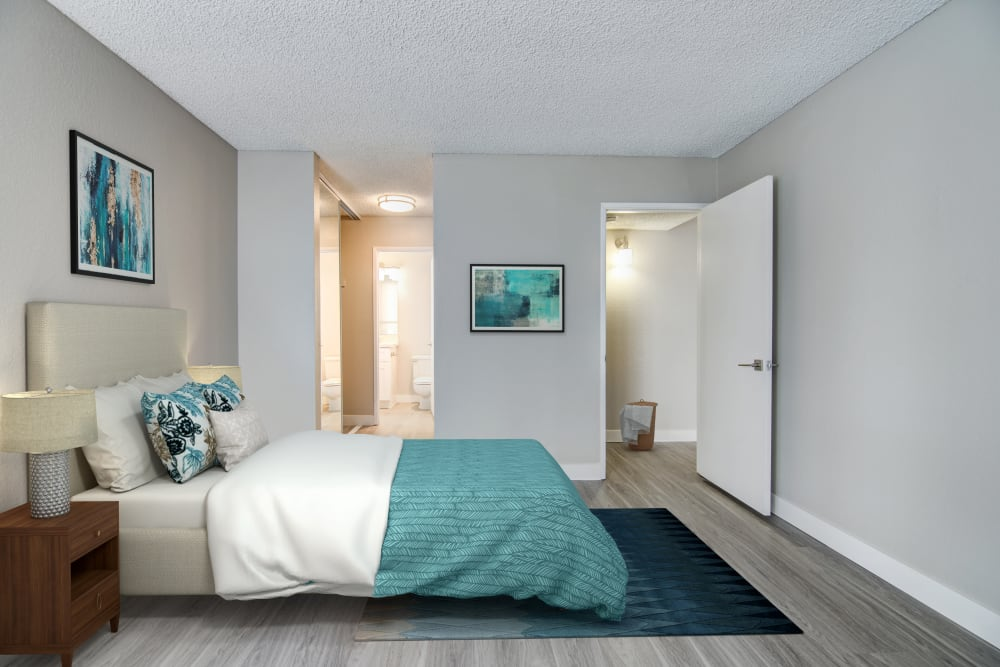 Spacious Bedroom at Avana La Jolla Apartments in San Diego, CA