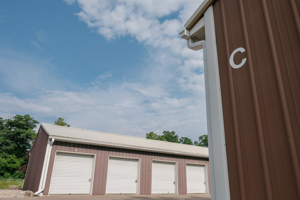 External view of our storage units at StayLock Storage in Battle Creek, Michigan