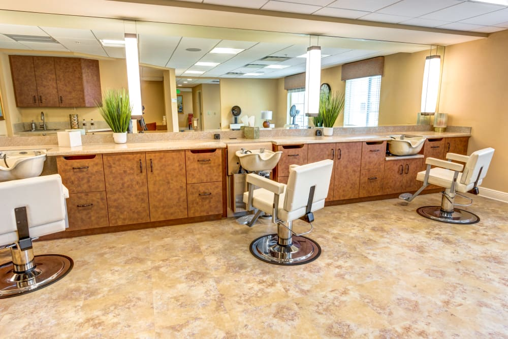On-site Salon at The Meridian at Boca Raton in Boca Raton, Florida