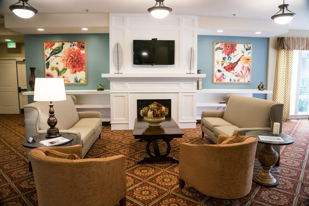 Great for entertaining senior living center at Avenir Memory Care at Little Rock in Little Rock, Arkansas