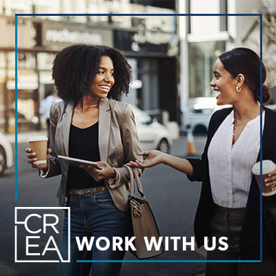 Link to Indeed job listings for CREA Management in Austin, Texas