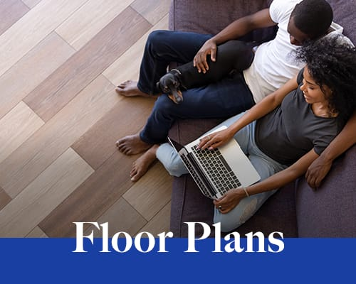 View floor plans at The Establishment at 1800 in Missouri City, Texas