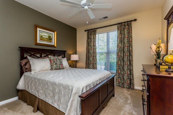 Spacious bedroom at Berkshire Fort Mill in Fort Mill, South Carolina