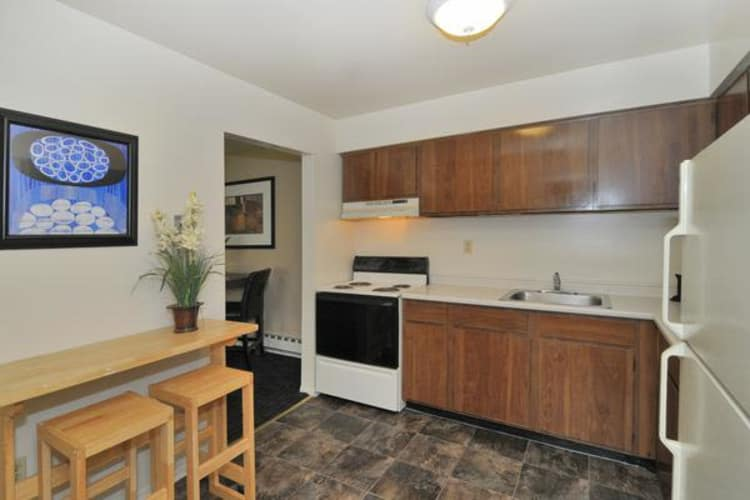 Kitchen at Whitestone Village Apartment Homes