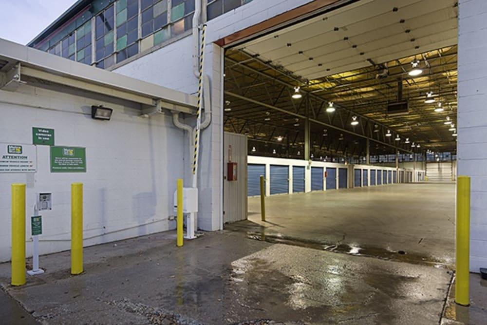 Entrance at Metro Self Storage in Chicago, Illinois