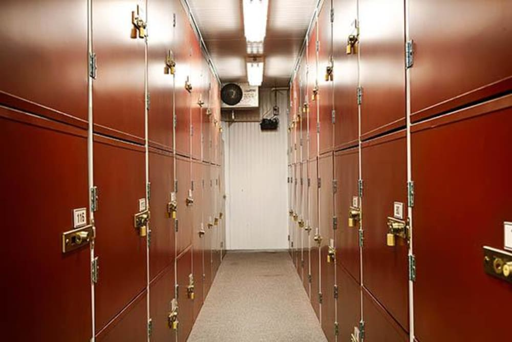 Indoor units at Metro Self Storage in Kingwood, Texas