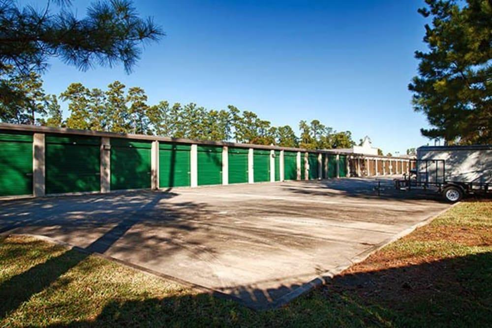 Outdoor units at Metro Self Storage in Kingwood, Texas