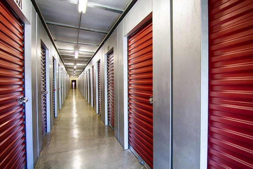 Outdoor units at Metro Self Storage in Lithonia, Georgia