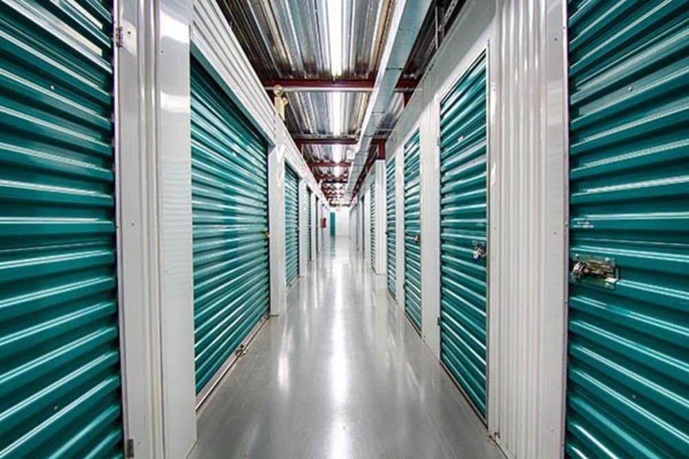 Metro Self Storage RS indoor storage units in Roswell, Georgia