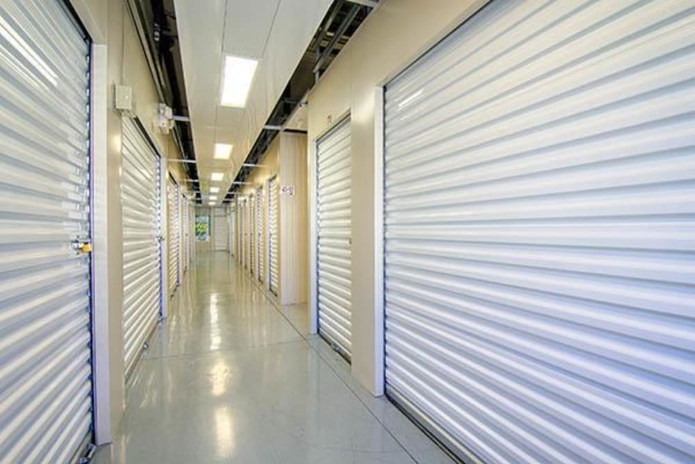 Indoor units at Metro Self Storage in Rex, GA