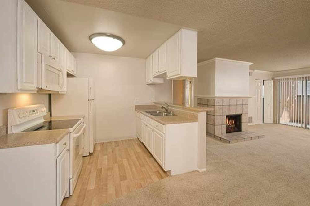 Our apartments are great for entertaining in Campbell, California and showcase a kitchen