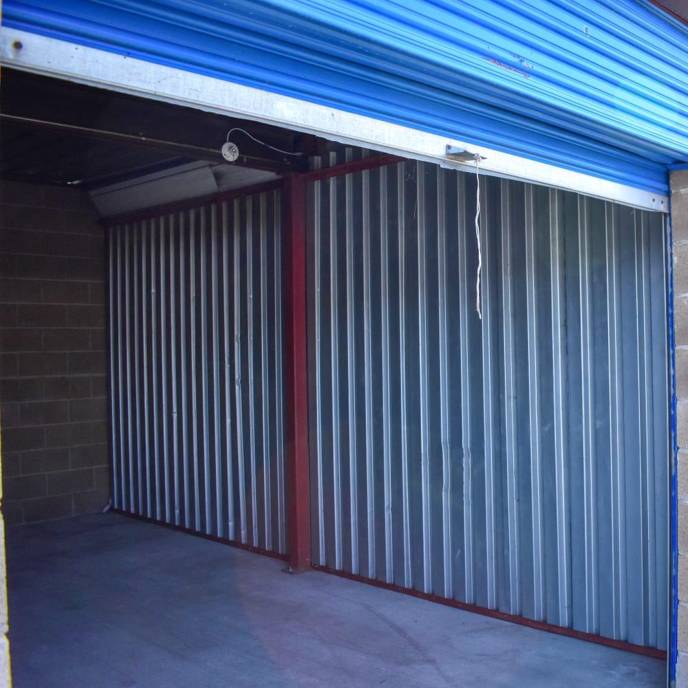 A large storage unit at STOR-N-LOCK Self Storage in West Valley City, Utah