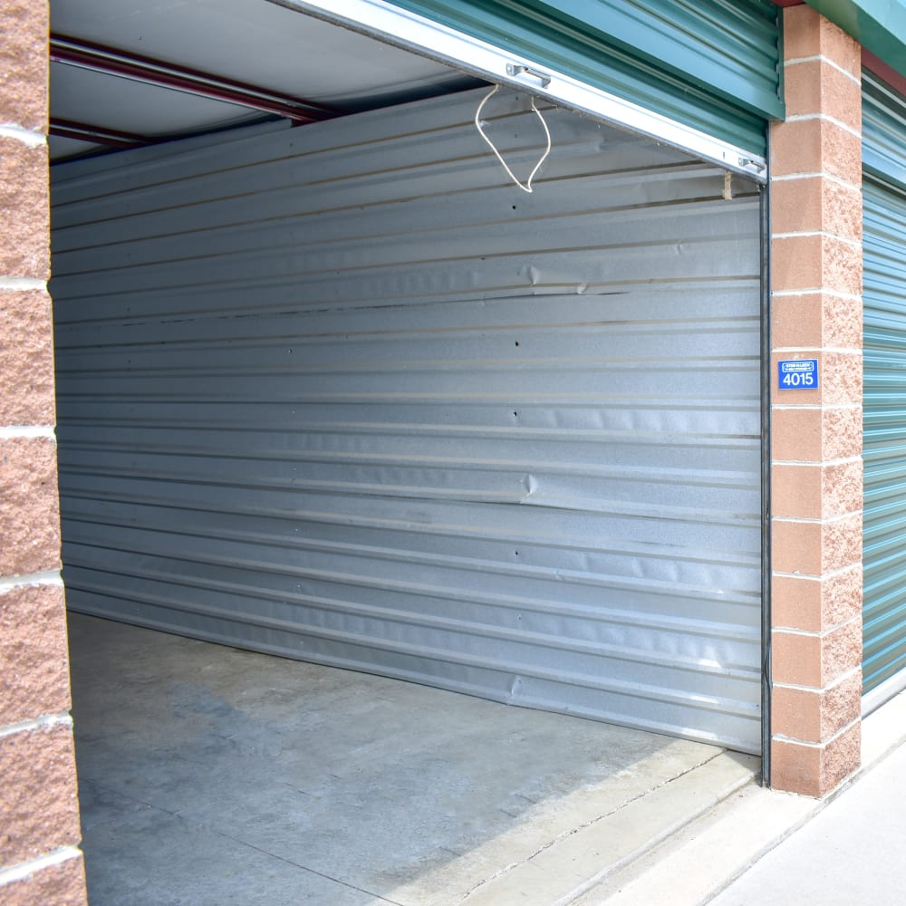 A large storage unit at STOR-N-LOCK Self Storage in Littleton, Colorado