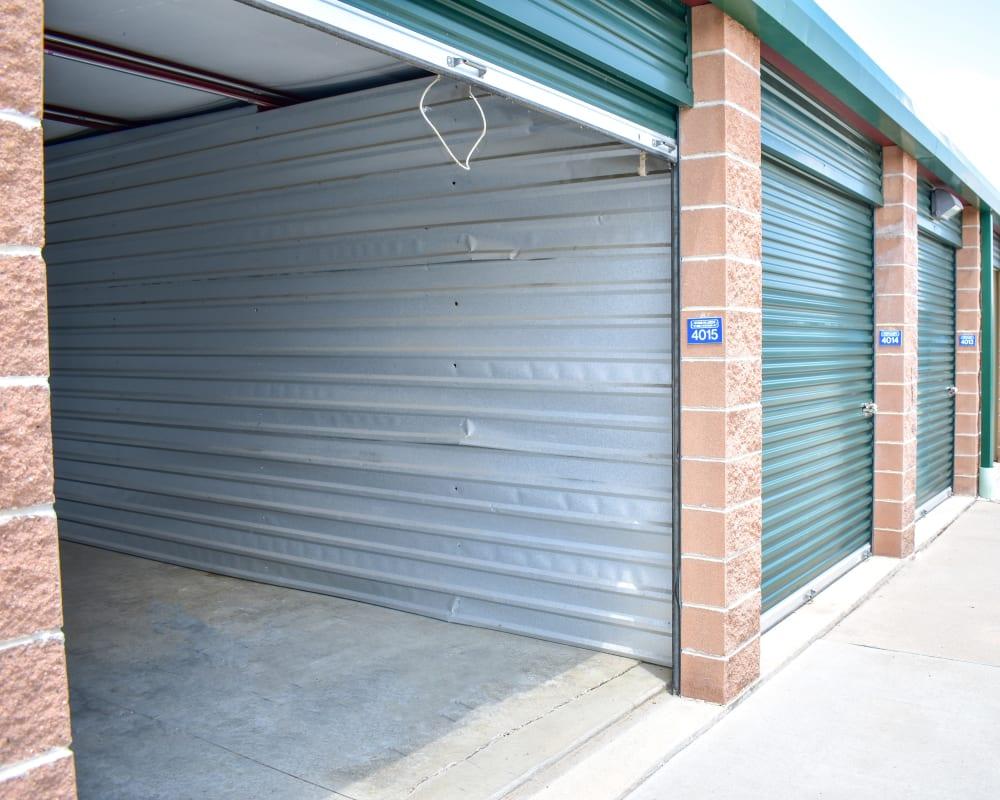 A very large storage unit at STOR-N-LOCK Self Storage in Littleton, Colorado